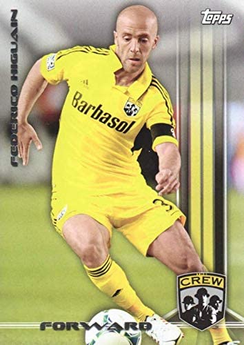 2013 Topps Mls Soccer 57 Federico Higuain Columbus Crew At Amazon S Sports Collectibles Store