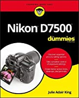 Nikon D7500 For Dummies Front Cover