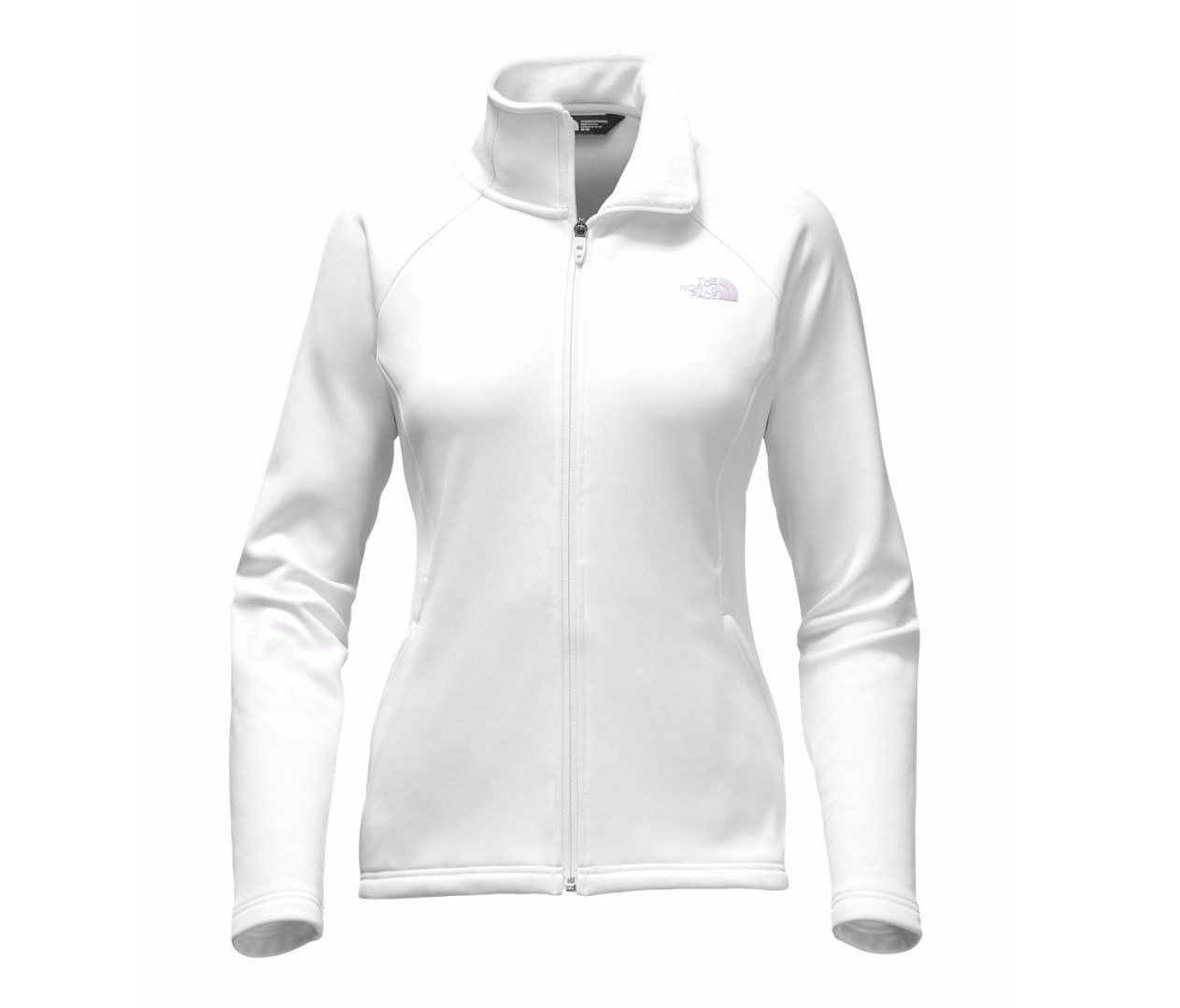 The North Face Women's Agave Full Zip Jacket TNF White M