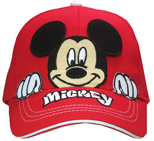 Disney Mickey Mouse Boys Peek-A-Boo Baseball Cap