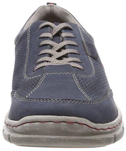 Rieker 13711, Richelieus Homme, Atlantic/Jeans Bleu (Atlantic/Jeans)