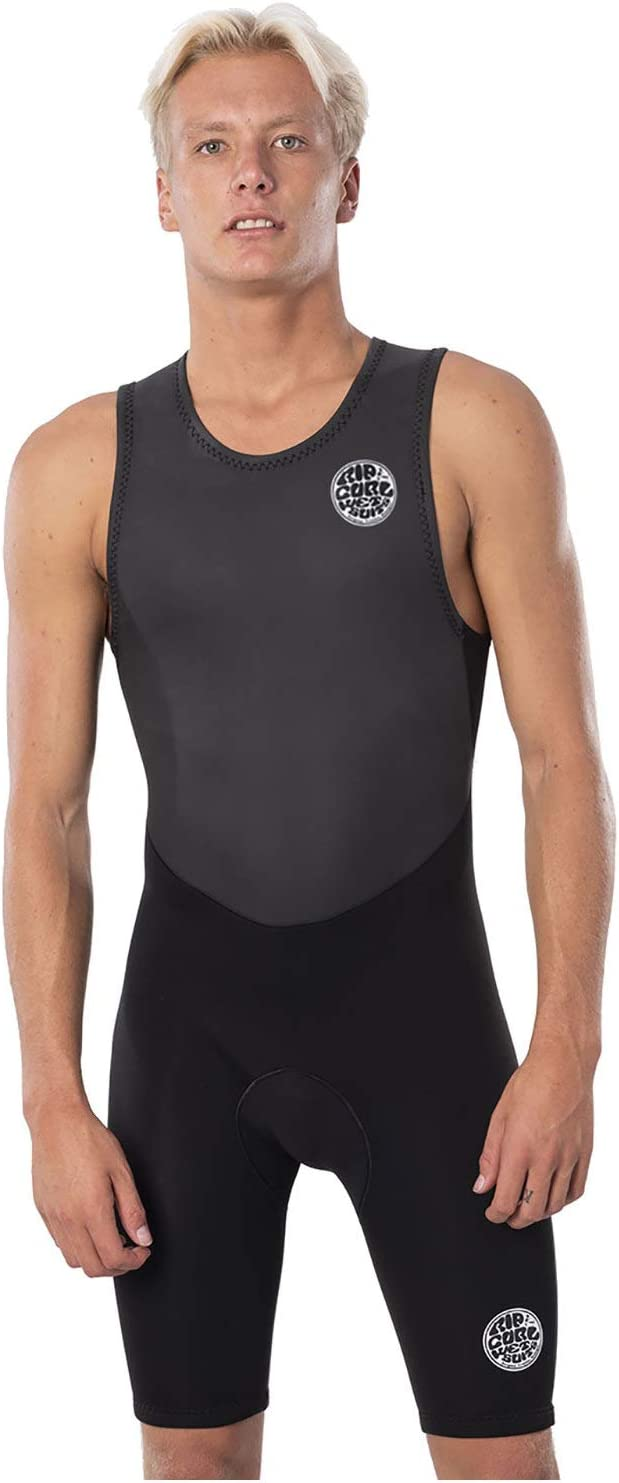 rip curl sleevless shorty wetsuit