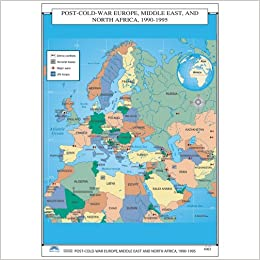 Map Of Africa Europe And Middle East.Post War Europe Middle East North Africa U S History