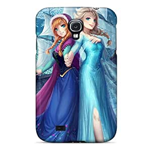 Hot Snap-on Frozen Anime Style Hard Cover Case/ Protective Case For Galaxy S4