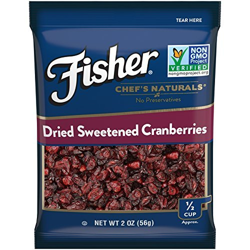 ls Dried Sweetened Cranberries, No Preservatives, Non-GMO, 2 oz (Pack of 12) ()