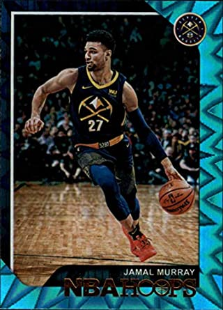1bf86c2aa57d 2018-19 NBA Hoops Teal Explosion  22 Jamal Murray Denver Nuggets Official  Trading Card