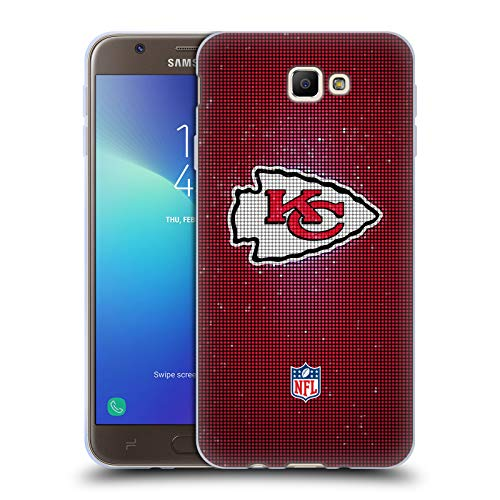 (Official NFL LED 2017/18 Kansas City Chiefs Soft Gel Case for Samsung Galaxy J7 Prime 2)