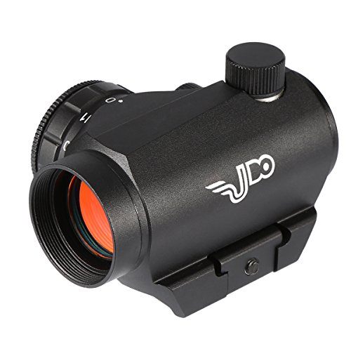 Udo Red Dot Sight With 2MOA Dot Accuracy, Shock Water Fog Proof Durable, 11 brightness levels, Warranty, Black by Udo