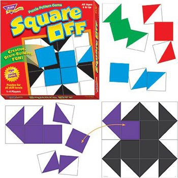Square Off Puzzle Pattern Game (Square Pattern Puzzle)