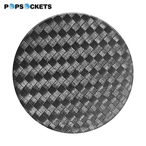 (PopSockets: Collapsible Grip and Stand for Phones and Tablets - Carbonite Weave)