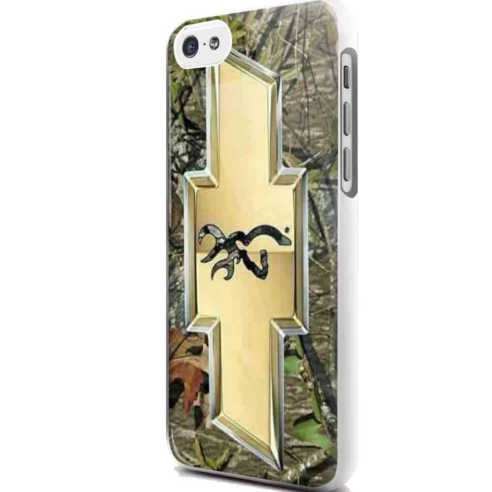 camo browning chevrolet 3 iphone case