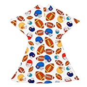 Football Zipadee-Zip (Medium 6-12 Months (19-26 lbs, up to 32 inches))