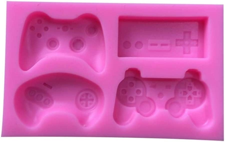 Stencilfunny Joystick Shape Silicone Mold DIY Resin Charms Tools Handmade Game Controller Molds Resin Gamer Decor Jewelry Cabochons-in Cake Molds