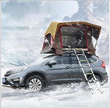 LHY-camping Tienda de Auto-conducción aleación de Aluminio Techo automático Cuenta Acampar habitación móvil Doble Tapa Blanda Lluvia Engrosamiento 2 Personas 4 Temporada: Amazon.es: Deportes y aire libre