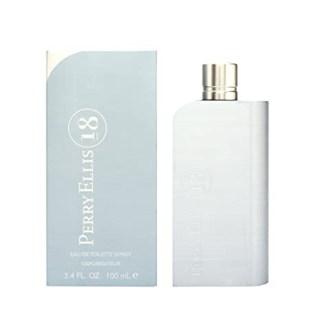 Perry Ellis 18 for Men, 3.4 fl oz Eau de Toilette Spray