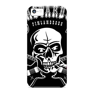 KerryParsons Iphone 5c Shockproof Hard Phone Cases Provide Private Custom Colorful Rolling Stones Series [wid17824aWSs]