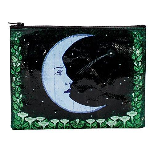 Blue Q Bags, Zipper Pouch, Moon by Blue Q