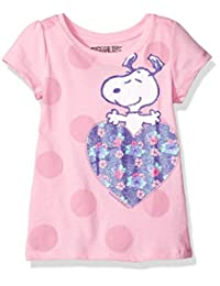 Freeze Kids girls Peanuts Snoopy Hearts Toddler Girls T-Shirt