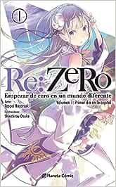 Re:Zero novela nº 01: Empezar de cero en un mundo