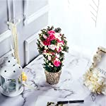 BEGONDIS-Artificial-Rose-Flowers-Bouquets-with-Ceramic-Pot-118-Fake-Silk-Floral-Arrangement-for-Home-Office-Decorations-Wedding-Table-Centerpieces-Indoor-OutdoorPink