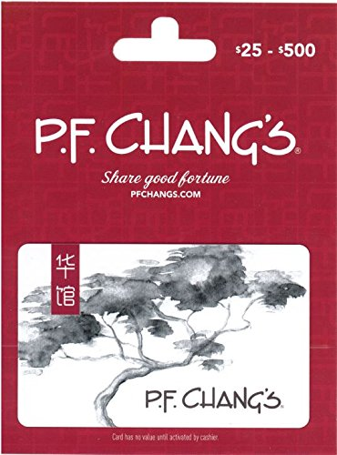 P.F. Changs Gift Card $100