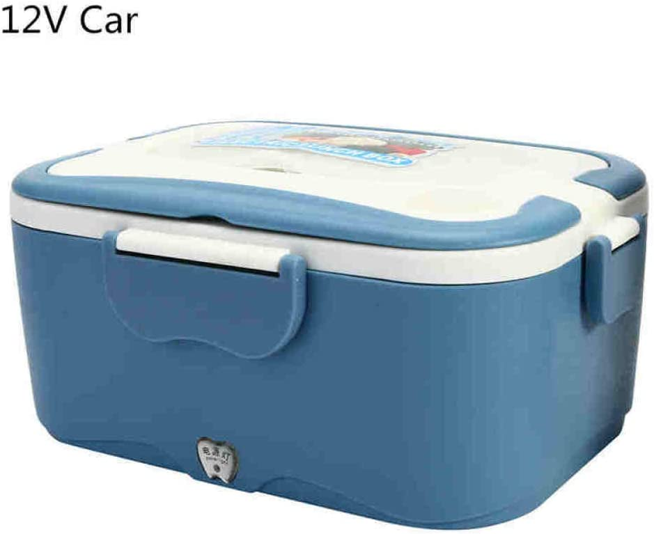 Fiambrera Bento Box 1 5L 12V / 24V Car Fiambrera eléctrica de viaje Aire libre Cenar Calefactor de camiones Fiambrera de alimentos Caja de almacenamiento de vajilla Caja de regalo 12V