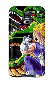 Tpu LillianHubbar Shockproof Scratcheproof Vegeta Hard Case Cover For Galaxy S5