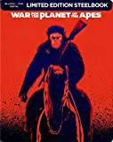 War For The Planet of The Apes Limited Edition Steelbook Blu Ray DVD Digital HD