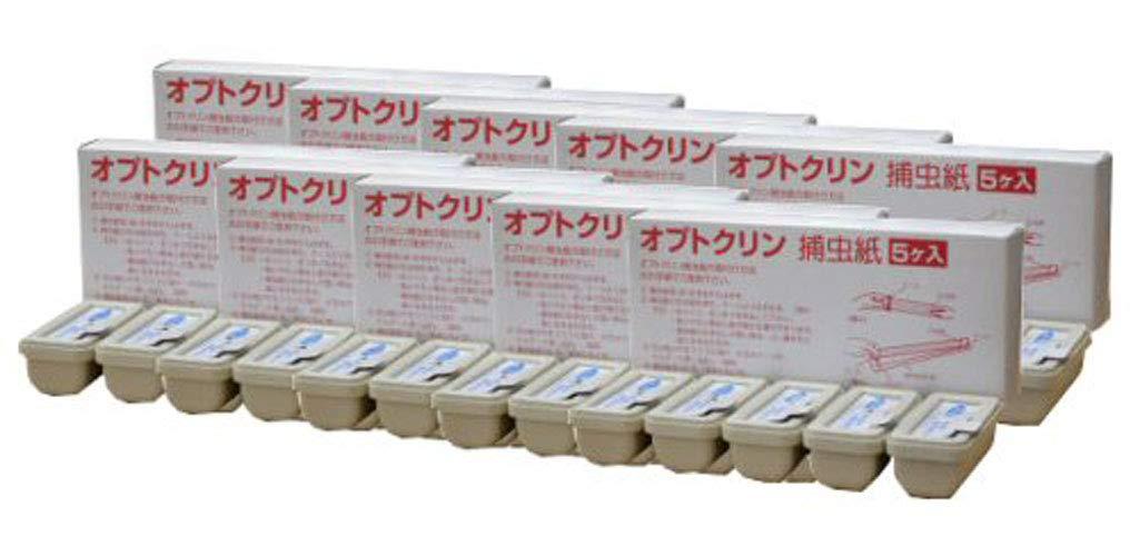 イカリ消毒 オプトクリン捕虫紙小箱S-20 5個入×10ケース 捕虫器交換用捕虫紙 B07ND9FYR6
