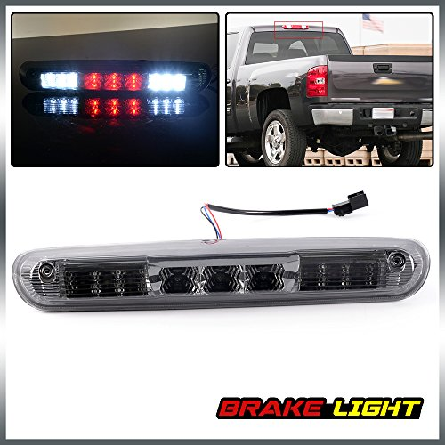 LED 3rd Third Brake Light Rear High Mount Stop Tail Lamps For 07-13 Chevy Silverado GMC Sierra 1500 2500 3500