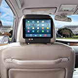 TFY Car Headrest Mount Holder for iPad Mini & iPad Mini 2, Fast-Attach Fast-Release Edition, Black