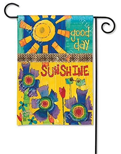 Magnet Works, Ltd. Good Day Sunshine BreezeArt Garden Flag