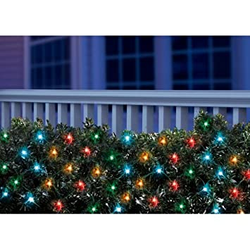 holiday time led christmas net light set multi bulbs150 count set of 2
