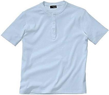 Serafino Camiseta de Heine en Azul Claro - algodón, azul claro, 100% algodón 100% algodón, hombre, 44/46: Amazon.es: Ropa y accesorios