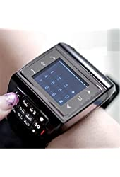 Victor GSM Quadband Voice Dialing Watch Cell Phone Unlocked