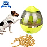 Airsspu Dog Toy - Treat Ball Interactive Food Dispenser Ball Toy for Small Medium Large Dogs - Boredom Puzzle Toys Mental Stimulation Pets Treat-dispensing Ball (Dog Toy)