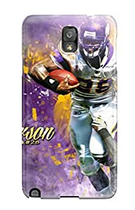 For JakeNC Galaxy Protective Case, High Quality For Galaxy Note 3 Minnesota Vikings Skin Case Cover