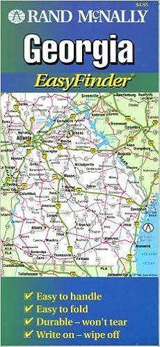 Rand McNally Easyfinder Georgia Map (State Maps-USA): Rand McNally ...