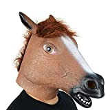 Monkey Horse Animal Head Mask Halloween Party Costume Decorations