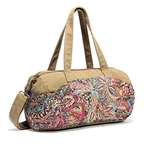 A Colore Moontang Messenger a A tela retrò Borsa Dimensione tracolla donna bag casual in da qw6fAqP