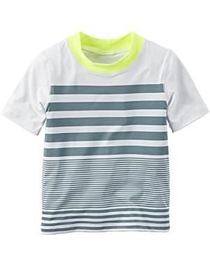 Boy's Engineered Stripe Rashguard (12 Months)