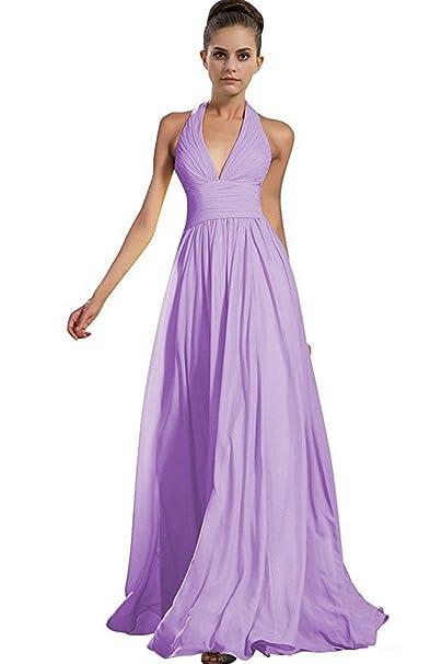 low priced a2ebe 21816 Gorgeous Bride - Vestito - Sera - Donna lilla 38: Amazon.it ...