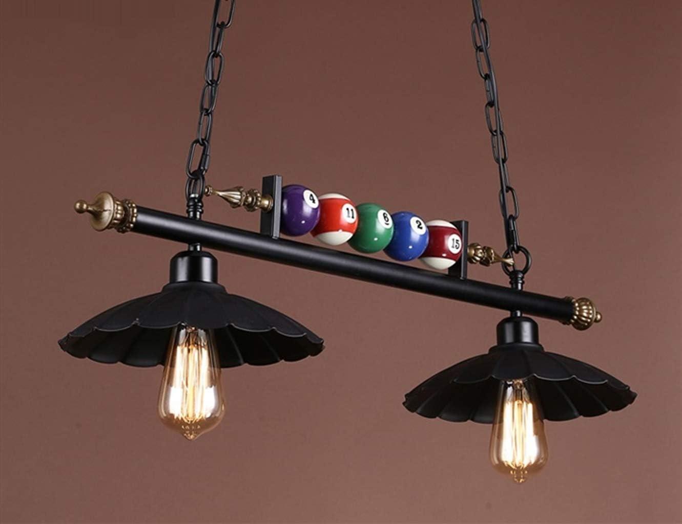 Retro 1/2/3 billares colgante salas de exposiciones araña de luz ...