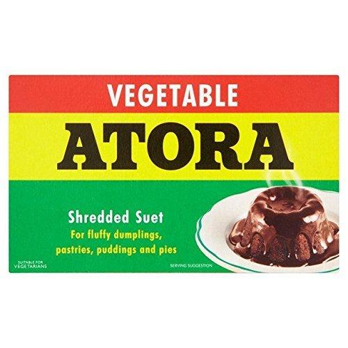 (Atora Shredded Vegetable Suet 200g - Pack of 6)