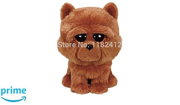 Ty Beanie Boos ~ BARLEY the Chow Chow Dog NEW MWMT 6 Inch