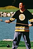 Adam Sandler Happy Gilmore iconic with golf club on course 18x24 Poster