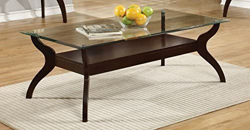 Coaster Home Furnishings Casual Cappuccino Coffee Table,