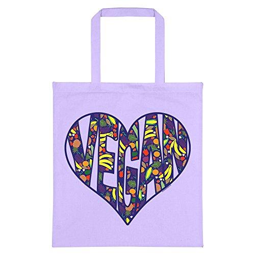 Lilac Vegan RealSlickTees RealSlickTees Heart Bag Vegan Tote xwYZpqEz