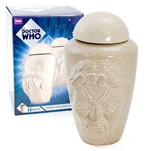 Doctor Who Weeping Angel Cookie Jar