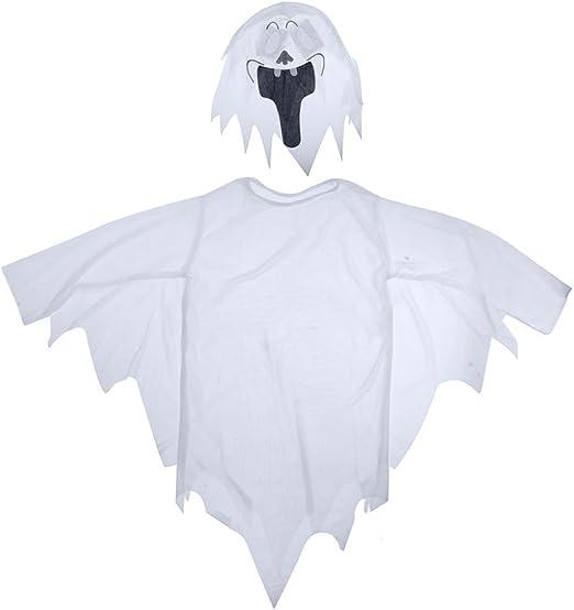 AchidistviQ - Máscara de Fantasma para niñas, niños, Halloween ...
